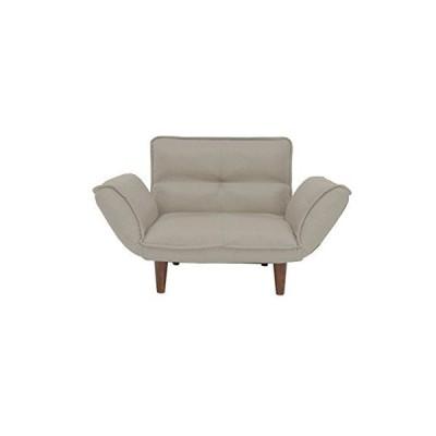 家具350 【1人掛】 ソファ リクライニング 15色 座りやすさ 機能性 リビング PVC/アイボリー 80020