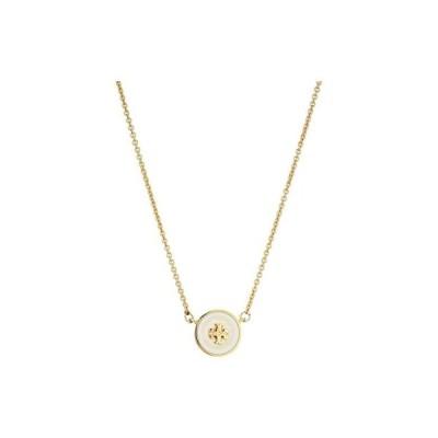 トリーバーチ Kira Enamel Pendant Necklace レディース ネックレス Tory Gold/New Ivory