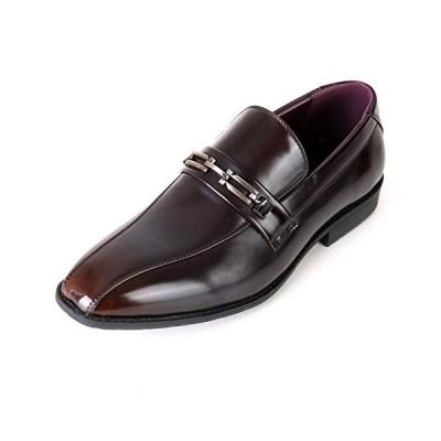 [タキオス] ビジネスシューズ メンズ 革靴 紳士靴 ストレートライン 994 ダークブラウン 27.5cm