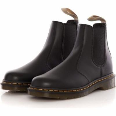 ドクターマーチン Dr. Martens メンズ ブーツ チェルシーブーツ シューズ・靴 - Vegan 2976 Chelsea Boots Black Felix Rub Off - Shoes