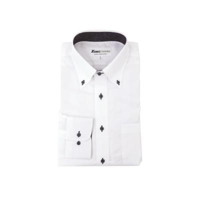 ジーベック 15157 ボタンダウン長袖シャツ 【業務用】コック服