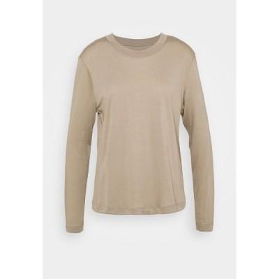 カサル カットソー レディース トップス EASE CREW NECK - Long sleeved top - comfort grey