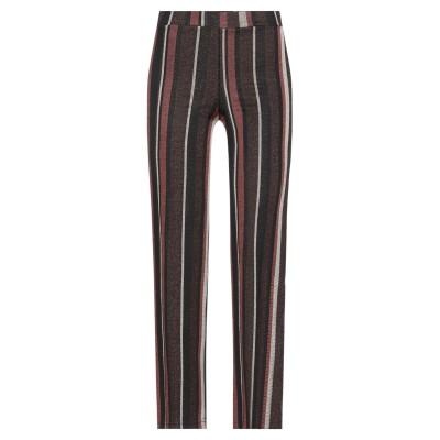 EXSY パンツ ダークブラウン M レーヨン 75% / ナイロン 20% / ポリウレタン 5% パンツ