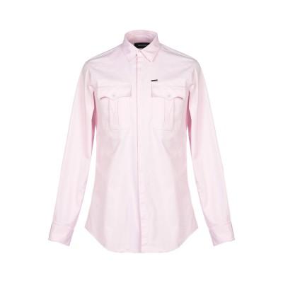 ディースクエアード DSQUARED2 シャツ ピンク 46 コットン 97% / ポリウレタン 3% シャツ