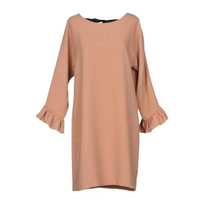 SHIRTAPORTER ミニワンピース&ドレス パステルピンク 40 ポリエステル 100% ミニワンピース&ドレス