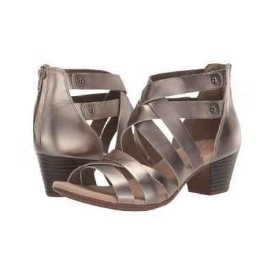 Clarks クラークス レディース 女性用 シューズ 靴 ヒール Valarie Dream - Pewter Leather