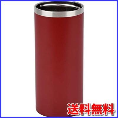 和平フレイズ 冷たさ長持ち! 缶ホルダー 500ml アースレッド 真空断熱構造 保温 保冷 タンブラーにもなる 2WAYタ