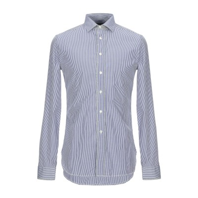 COAST WEBER & AHAUS シャツ ブルー S コットン 100% シャツ