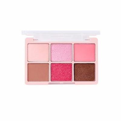 [チカイチコ]ワンショットアイパレットno.5(ラブリーピンク)■ピンク色 (lovely pink)