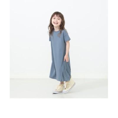 B:MING by BEAMS / 布帛コンビ プリーツワンピース(90~140cm)