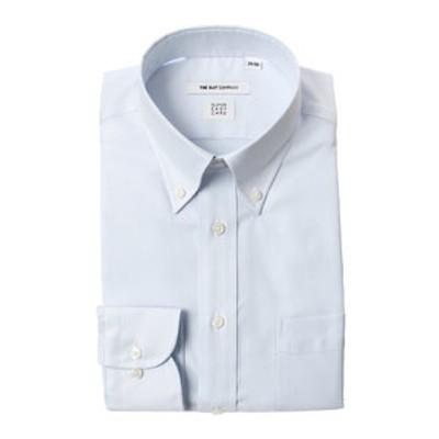 【SUPER EASY CARE】ボタンダウンカラードレスシャツ ストライプ 〔EC・FIT〕