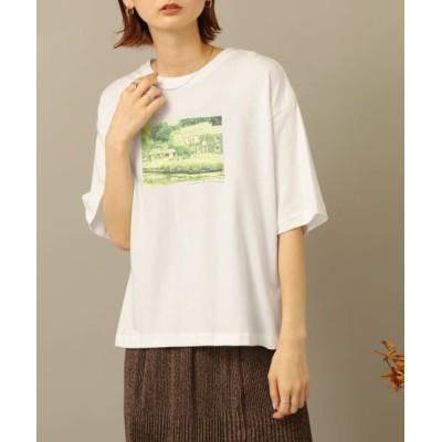 SENSE OF PLACE by URBAN RESEARCH/センスオブプレイス バイ アーバンリサーチ フォトプリントTシャツ B OFF WHITE FREE