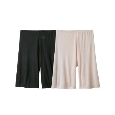 【WEB限定】接触冷感ペチパンツ2枚組(M) (ペチパンツ・ペチコート)Petticoat