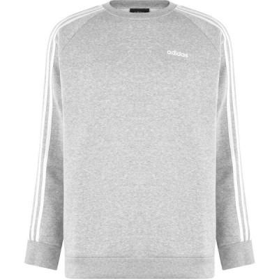 アディダス adidas レディース スウェット・トレーナー トップス Essentials Crew Sweatshirt Med Grey