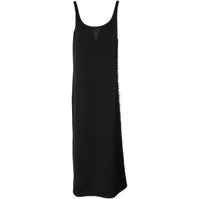 DOUUOD 7分丈ワンピース・ドレス ブラック S ポリエステル 55% / コットン 45% 7分丈ワンピース・ドレス