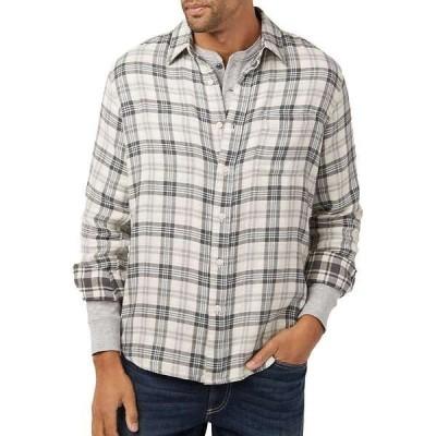 ファレティ メンズ シャツ トップス Faherty Reversible Belmar Long Sleeve Shirt