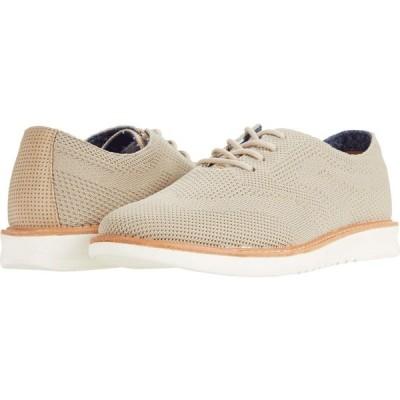 ベンシャーマン Ben Sherman メンズ 革靴・ビジネスシューズ ウイングチップ シューズ・靴 Omega Casual Wing Tip Taupe Nylon/Knit
