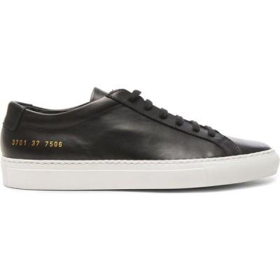 コモン プロジェクト Common Projects レディース スニーカー シューズ・靴 leather original achilles low Black