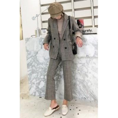韓国 ファッション レディース セットアップ ジャケット 春 スカート セットアップ レディース 春 スーツ オルチャン ファッション セッ
