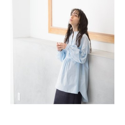 【WEB別注】ピンタックドレスシャツ