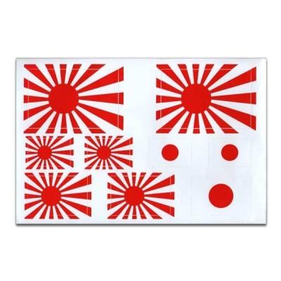 日章旗 旭日旗 日本 国旗 ステッカー シート セット 日の丸 USDM JDM NIPPON JAPAN アメリカン雑貨 アメ雑