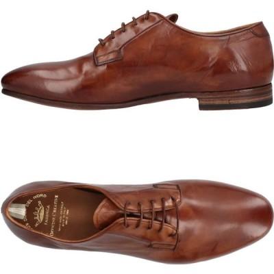 オフィチーネ クリエイティブ OFFICINE CREATIVE ITALIA メンズ シューズ・靴 laced shoes Brown