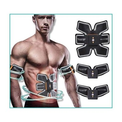 Wyyggnb EMS abs Trainer EMS Abs Trainer Body Fit Toning BeltsFitness Abdominal Muscle Trainer Office Lazy Motion Massage Workout Machine EMS