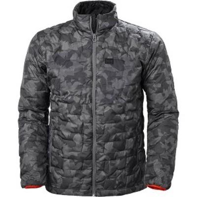 ヘリーハンセン メンズ ジャケット・ブルゾン アウター Lifaloft Insulator Jacket Charcoal Camo