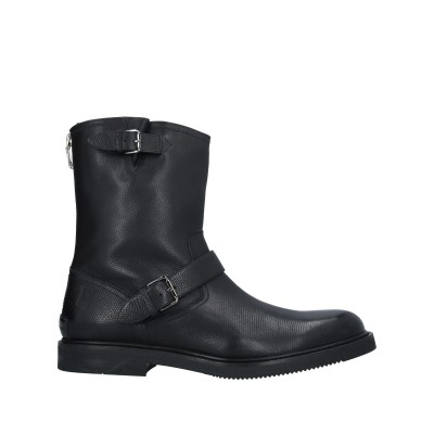 BALLY ショートブーツ ブラック 12 牛革(カーフ) ショートブーツ