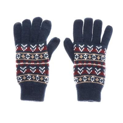ドレスキップ DRESKIP 手袋 (ネイビー)