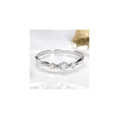 pt900 プラチナ 指輪 リング ダイヤモンド ダイヤ スリーストーン 3石 トリロジー 0.3ct BRR-0021