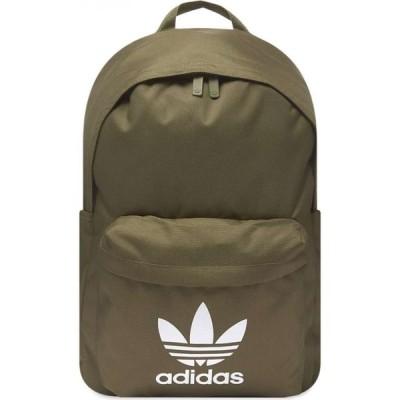 アディダス Adidas メンズ バックパック・リュック バッグ Classic Backpack Raw Khaki/White
