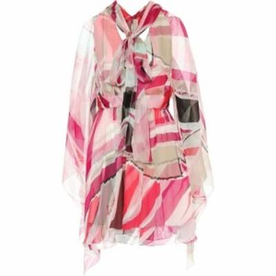エミリオ プッチ Emilio Pucci レディース ワンピース ワンピース・ドレス Printed silk dress Fuschia