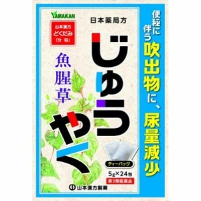 【第3類医薬品】山本漢方 日局 じゅうやく 5g×24包   ジュウヤク