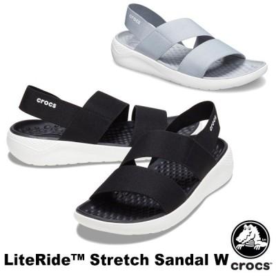 クロックス CROCS ライトライド ストレッチ サンダル ウィメン literide stretch sandal w レディース サンダル 女性用 [AA]