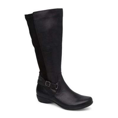 ダンスコ レディース ブーツ・レインブーツ シューズ Francesca Tall Leather Boots