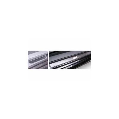 マジカルカーボン スカッフプレート シルバー GRB インプレッサWRX-STi(2007/6〜2011/1)