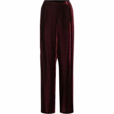 ステラ マッカートニー Stella McCartney レディース ボトムス・パンツ Velvet pants burgundy