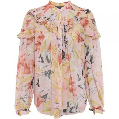 フレンチコネクション French Connection レディース ブラウス・シャツ トップス Floreta Crinkle Floral Blouse Multi-Coloured