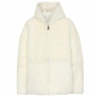 コモン レジャー Common Leisure レディース ジャケット シアリング アウター Reversible shearling jacket Off White