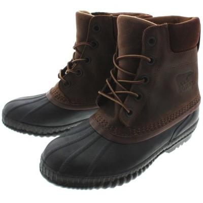 定番 ソレル SOREL ブーツ シャイアン 2 CHEYANNE 2 タバコ/ブラック NM2575-259