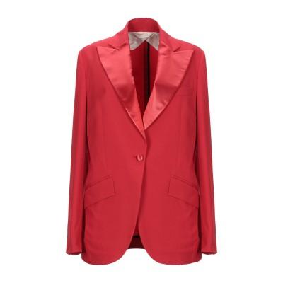 BOTTEGA MARTINESE テーラードジャケット レッド 44 ポリエステル 86% / ポリウレタン 14% テーラードジャケット