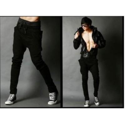 超人気のジョガーパンツ ブラック 黒 Lサイズ 大きいサイズ スポーツにもかっこいい ジョギング スエットパンツ メンズ 送料無料