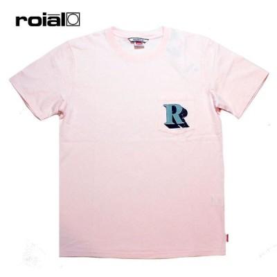 ROIAL,ロイアル/21SP/S/S TEE,半袖ポケットTシャツ/SIDECAR・R101MDT06/PEACH・ピンク/メンズ/サーフ/カジュアル/ルーズシルエット