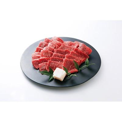 15-1 【冷蔵】特選 黒田庄和牛(焼肉用赤身モモ、450g)