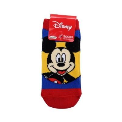 小学生用 靴下 ジュニア ソックス ディズニー ミッキーマウス サークル スモールプラネット