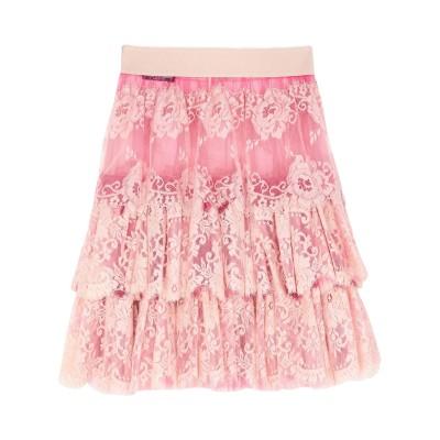 ドルチェ & ガッバーナ DOLCE & GABBANA ひざ丈スカート ライトピンク 36 ナイロン 74% / コットン 26% ひざ丈スカート