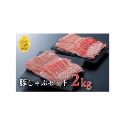 ふるさと納税 E-30 (合計2kg)中川さんちの米の恵み豚しゃぶセット【豊後高田市限定】 大分県豊後高田市