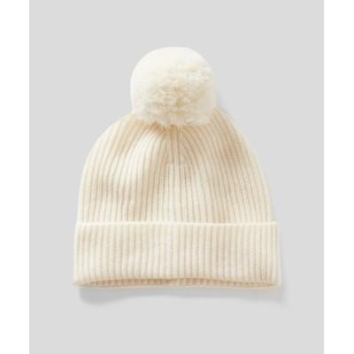 BENETTON (UNITED COLORS OF BENETTON) / ウールポンポンニット帽・ワッチキャップ WOMEN 帽子 > ニットキャップ/ビーニー