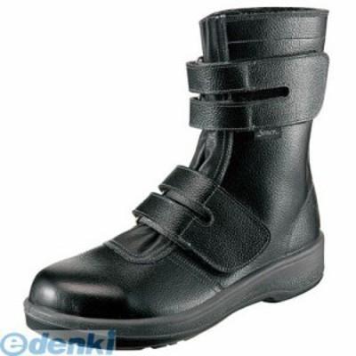 シモン [7538BK29.0] 安全靴 長編上靴 7538黒 29.0cm